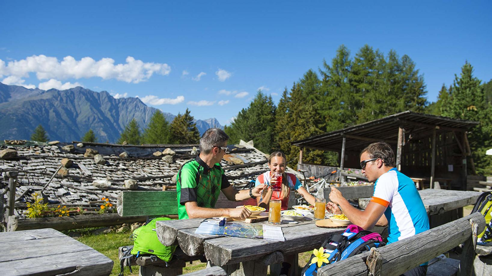 "18 E-Biketour to the ""Tablander Alm"" hut"