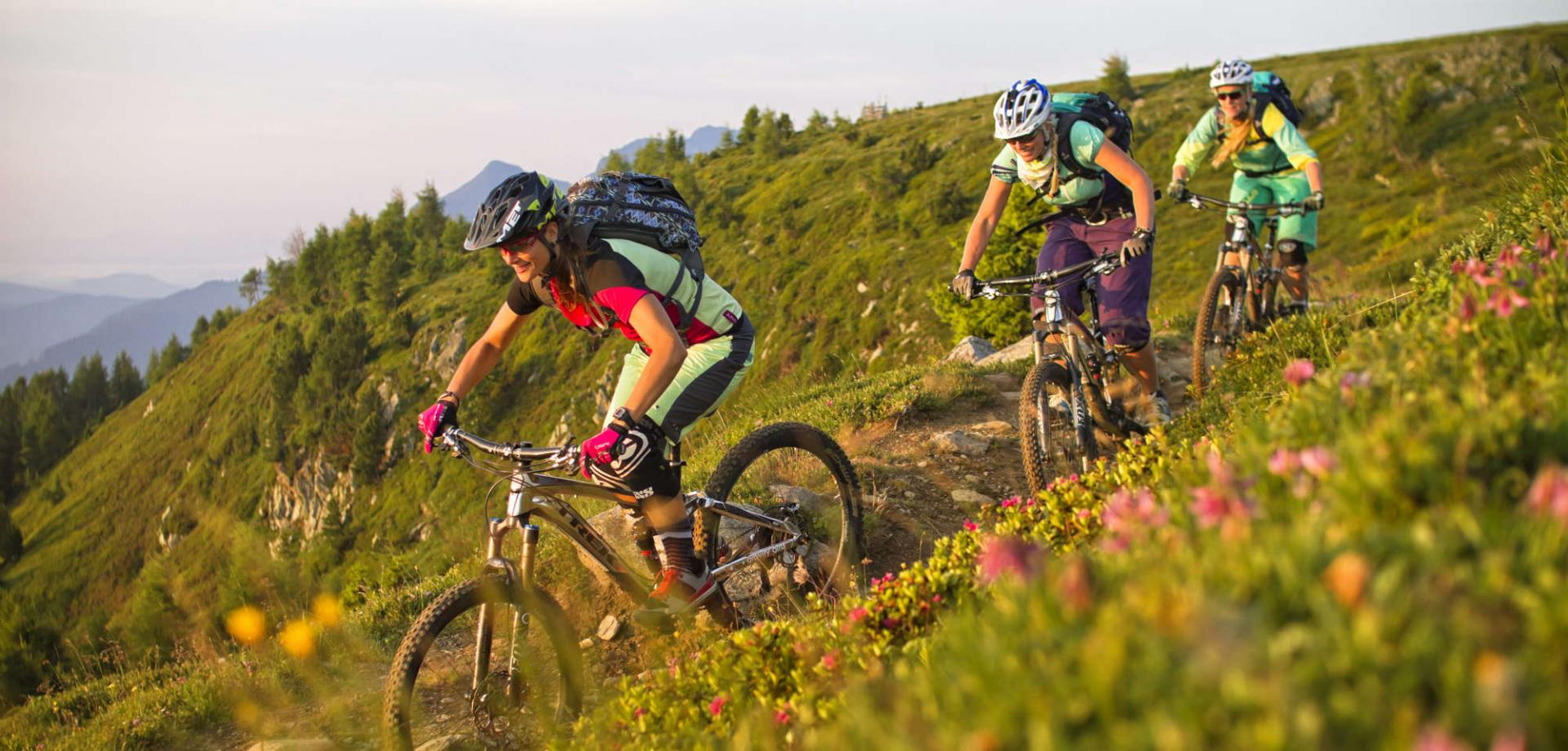 Eventi mountainbike con gite guidate e ex- professionisti
