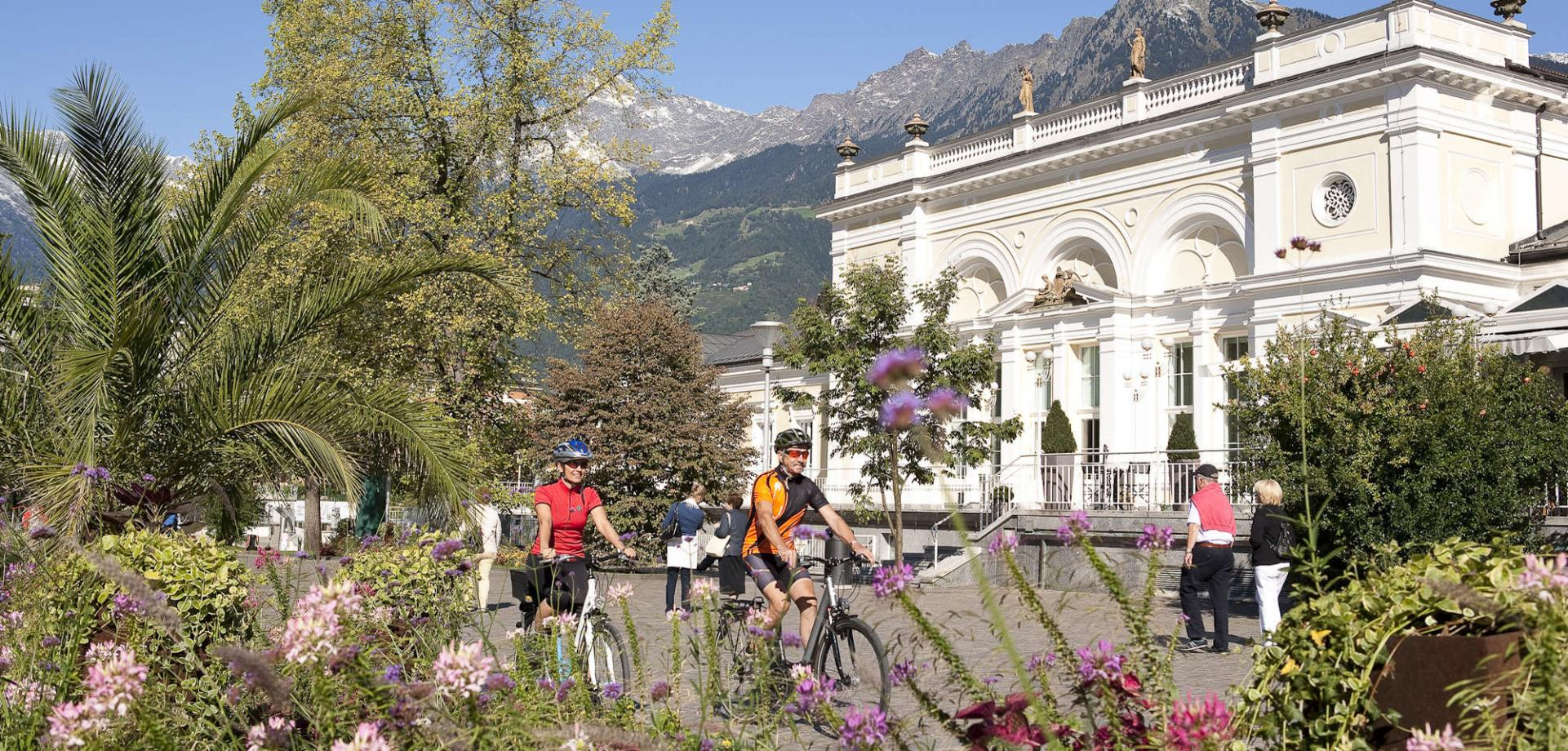 Genussrad Touren in Naturns bei Meran in Südtirol