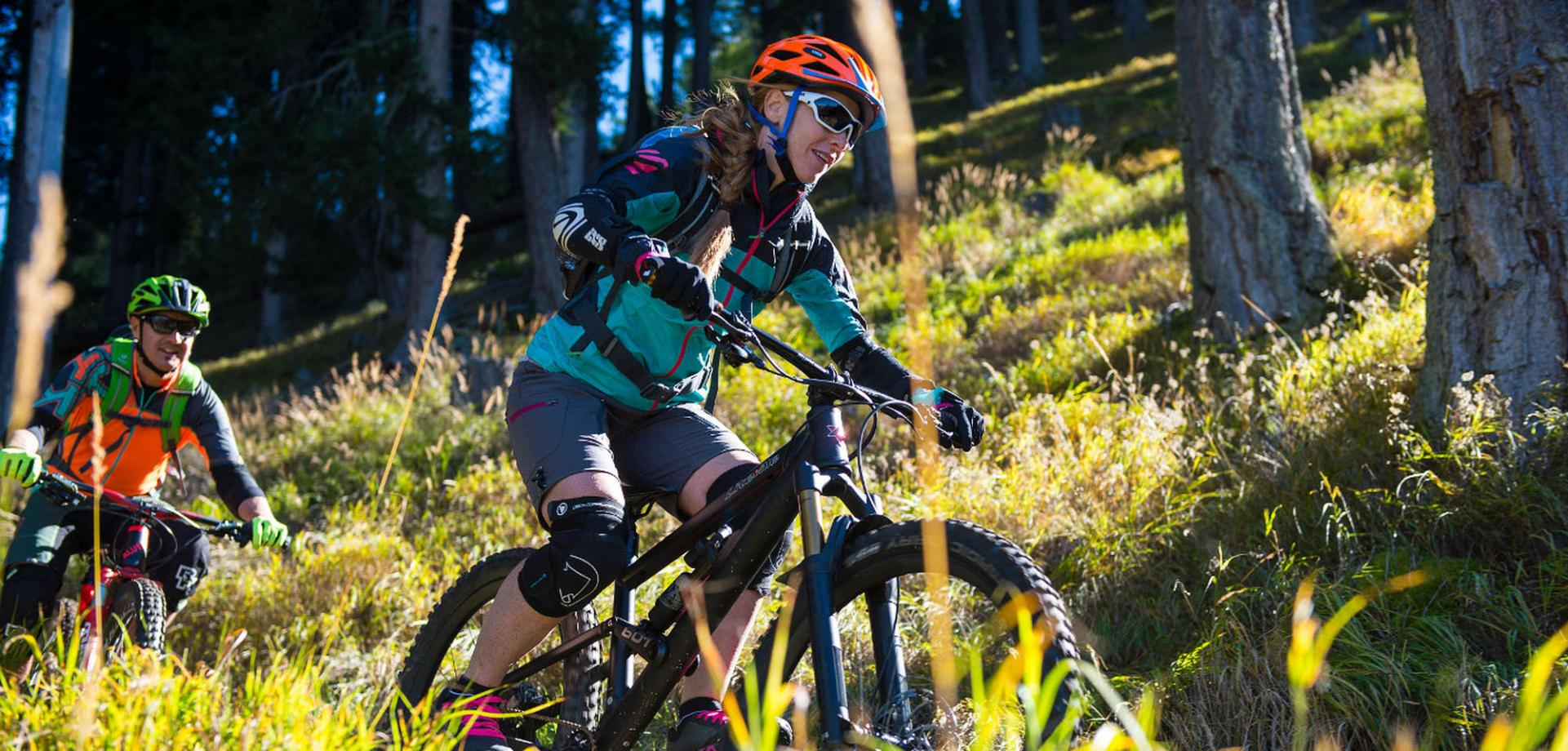 E-Mountainbike Trailtour around Naturno