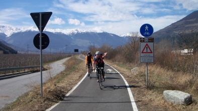 001 From Naturns to the Val d'Adige