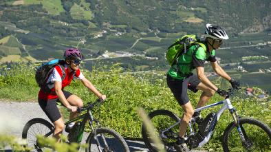 01 E-Biketour al Castel Tirolo