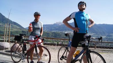 012 Con la bici da corsa in Val d'Ultimo
