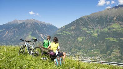 02 E-Biketour Castel Juval