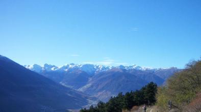 041 Schlanderser Sonnenberg Tour mit Propain Trail
