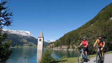 107 Tour cicloturistico da Passo Resia a Naturno