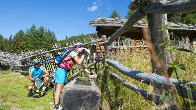 "14 E-Biketour to the ""Marzoner Alm"" hut"