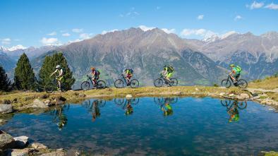 """19 E-Biketour to the """"Naturnser Alm"""" hut"""