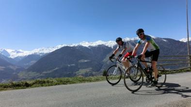 mappa bici da corsa: 04/A Giro Val Venosta da Spondigna
