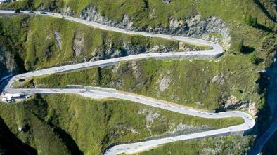 mappa bici da corsa: 09 Giro Passo Rombo