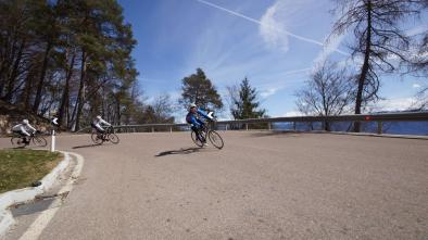 mappa bici da corsa: 12 Giro Passo Palade - Passo Mendola