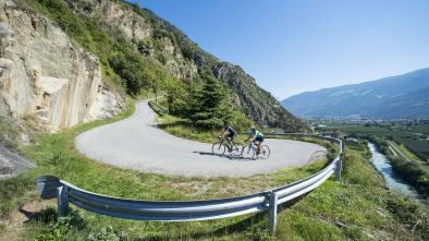 Rennradkarte Naturns nr. 10: Jaufenpass Tour