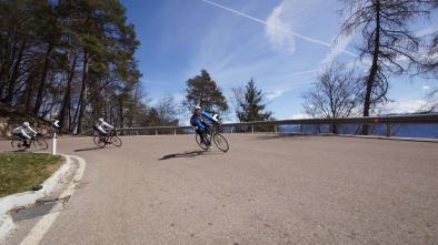 Rennradkarte Naturns nr. 12: Gampenpass - Mendelpass Tour