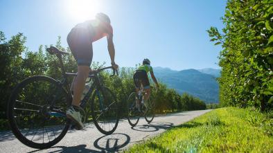 Rennradkarte Naturns nr. 14: Kalterer See Tour