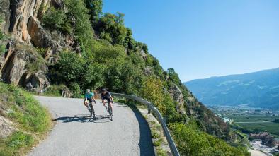 Rennradkarte Naturns nr. 16: Tschöggelberg Tour