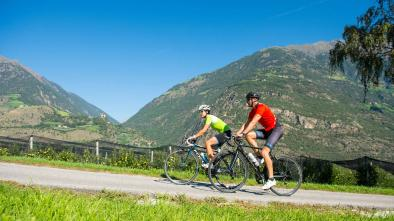 Rennradkarte Naturns nr. 18: Eggental Tour