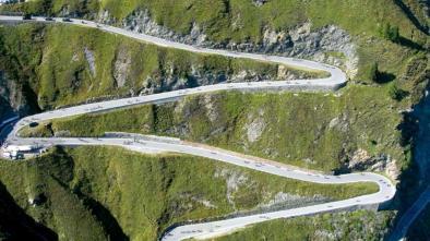 Road map 09 Tour Passo Rombo